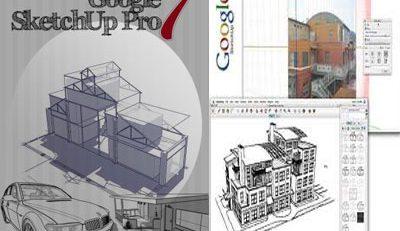 نرم افزار SketchUp Pro 7