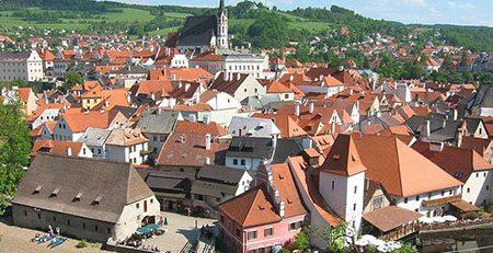شهر اروپایی قرون وسطی
