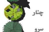 بررسی نظام کاشت درختان در باغ ایرانی