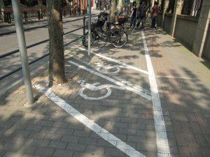فضای شهری معلولین