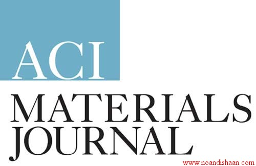 ژورنال 2011 تکنولوژی بتن ACI