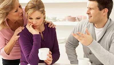 ارتباط با والدین همسر