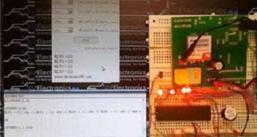 پروژه کامل sim900 and mobile