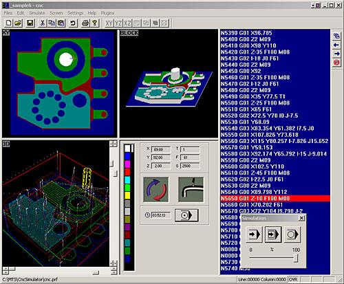 نرم افزار cnc simulator