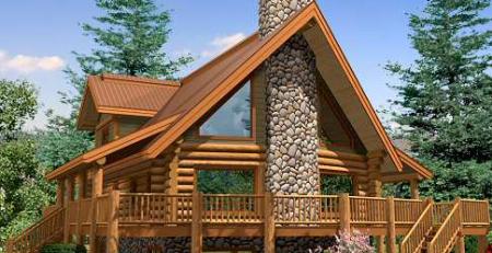 ساختمانهای چوبی