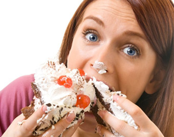 لاغرها شیرینی نخورند