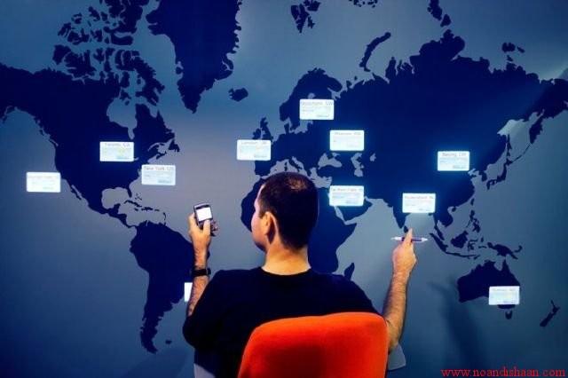 دکوراسیون داخلی شرکت گوگل