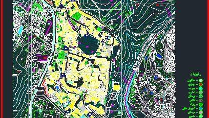 نقشه کد محله باغ شاطر