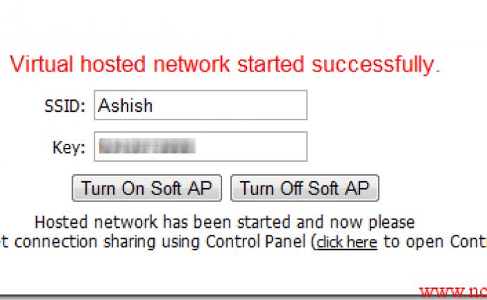 اشتراک سریع وایرلس با لپ تاپ از طریق Virtual Access Point