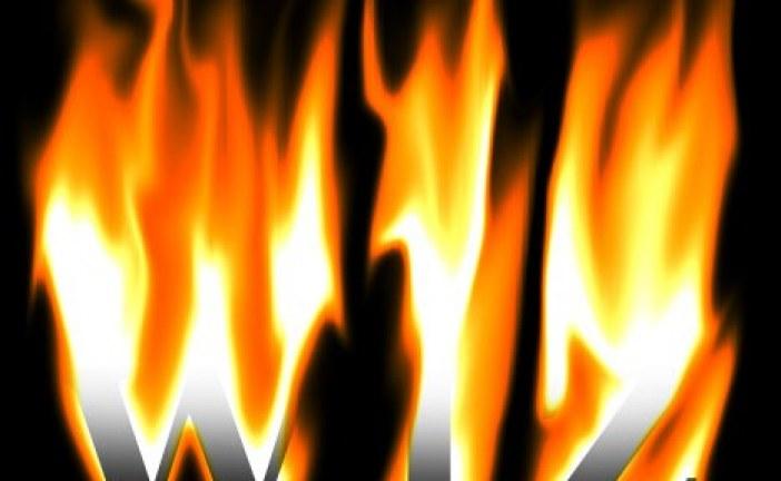 ایجاد افکت آتش در فتوشاپ