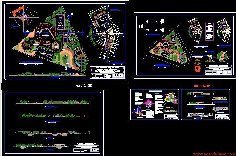 نقشه پارک محله ای