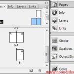 آموزش کار با master page در ایندیزاین