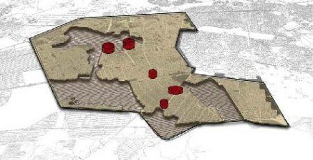 الگوی توسعه و طرح تفصیلی حوزه میانی غربی کلانشهر مشهد
