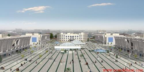 پروژه میدان شهدا مشهد