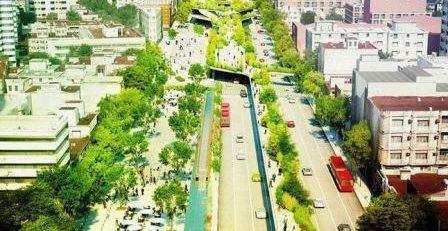 ایده های نو در طراحی خیابان