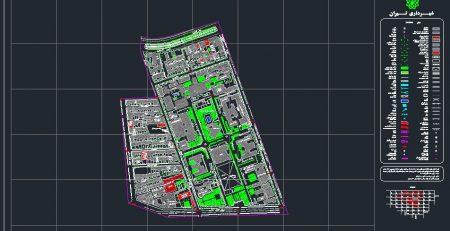 نقشه کد دانشگاه تهران