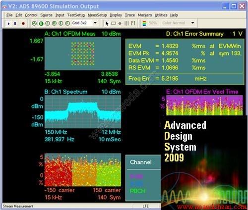 نرم افزار ADS 2009-Agilent