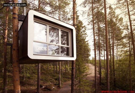 خانه های سازگار با طبیعت در سوئد