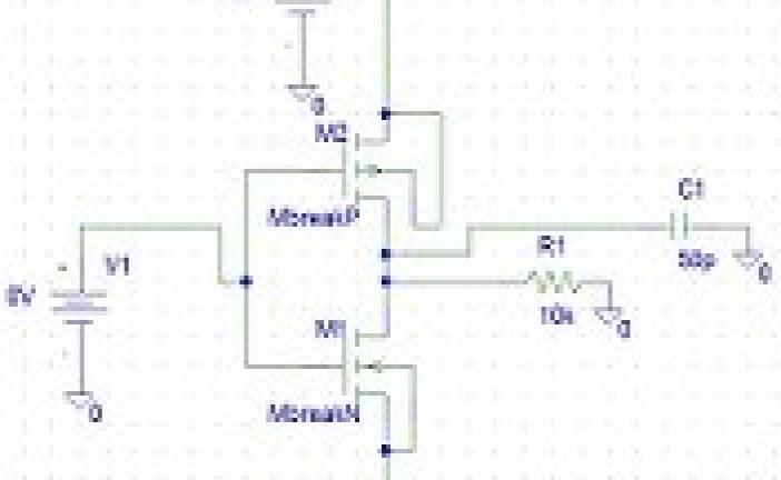 پروژه الکترونیک دیجیتال – مدار معکوس کننده