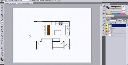 کاربرد فتوشاپ در معماری