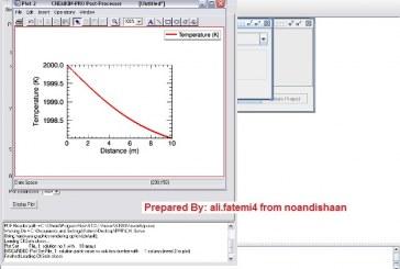 آموزش تصویری نرم افزار CHEMKIN Pro برای اولین بار