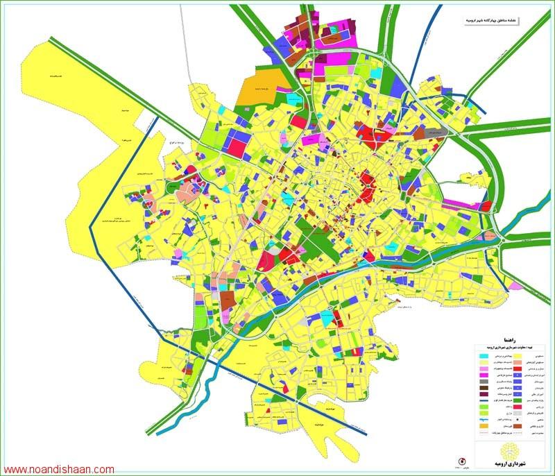 طرح جامع شهر ارومیه