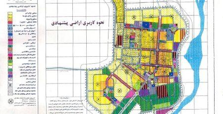 طرح جامع شهر سرخس
