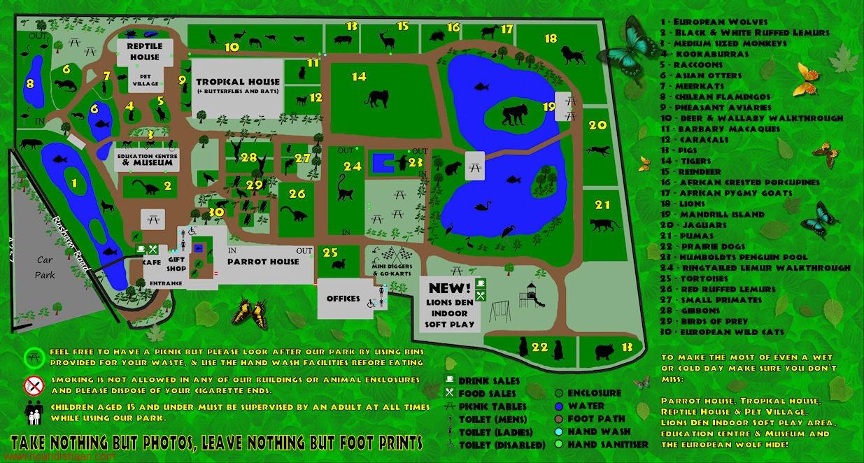 نقشه پارک دانشجو