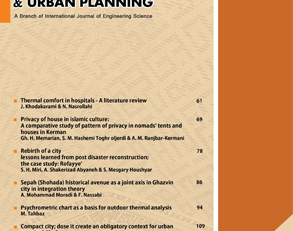 International Journal of Architectural Engineering & Urban Planning