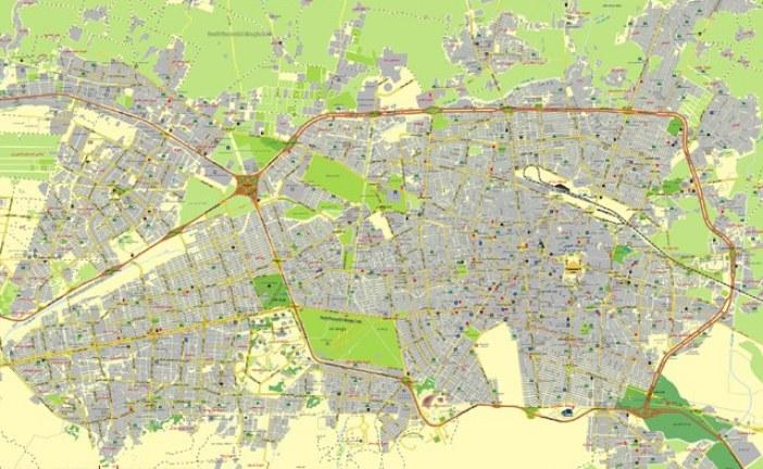 الگوی توسعه و طرح تفصیلی حوزه میانی غربی (کلانشهر مشهد)