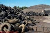 استفاده از ذرات لاستیک بازیافتی به دست آمده از تایر به عنوان سنگدانه