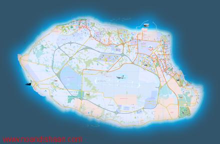 نقشه کد جزیره کیش