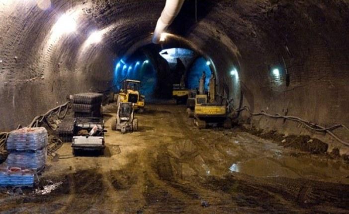 مراحل ساخت تونلهای بزرگ