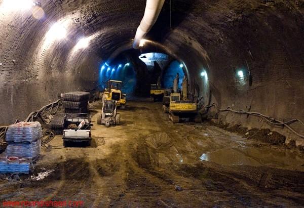 مراحل ساخت تونل بزرگ