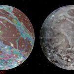 تهیه نقشه از گانیمد بزرگترین قمر منظومه شمسی