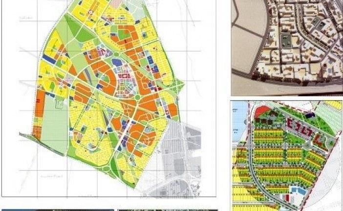 نقشه اتوکد طرح تفصیلی شهر جدید اندیشه (DWG)