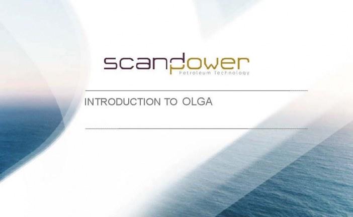 آموزش نرم افزار OLGA