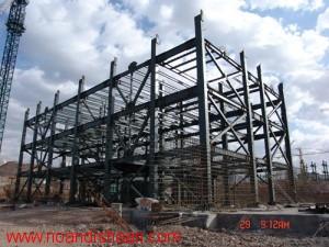پروژه سازه های فولادی