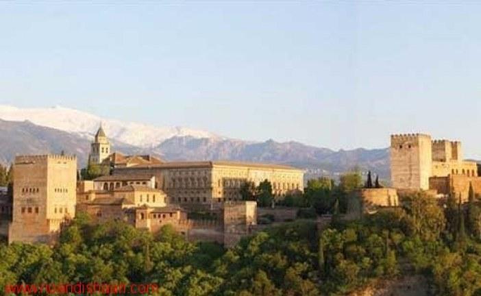 الگوشناسی باغ های ایرانی- اسلامی امویان در اندلس (اسپانیا)
