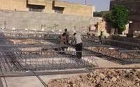 پروژه کارآموزی | مراحل اجرائی اولیه عملیات ساختمانی در اسکلت فلزی