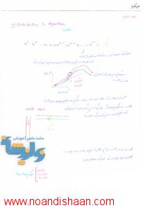 جزوه طراحی الگوریتم دکتر سید جوادی