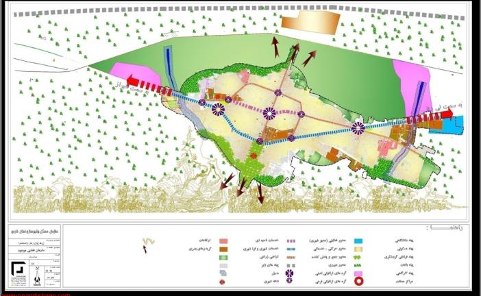 طرح جامع استهبان | دانلود طرح توسعه و عمران شهر استهبان