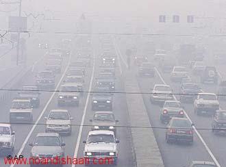 بررسی آلودگی هوای تهران