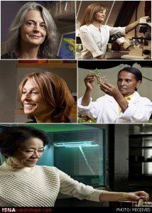 پنج دانشمند برتر زن