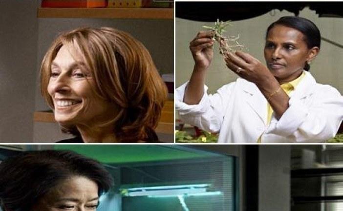 پنج دانشمند برتر زن قارههای جهان به انتخاب یونسکو
