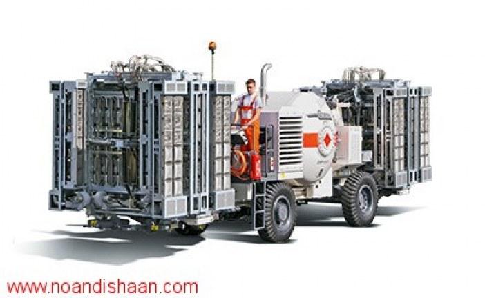 معرفی ماشین آلات بازیافت آسفالت