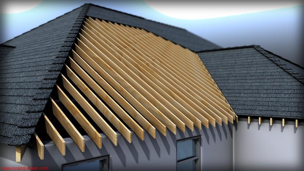 آموزش ترسیم انواع سقف در Revit