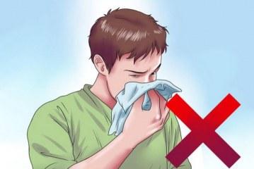 آموزش نحوه رفع گرفتگی بینی در هنگام سرماخوردگی
