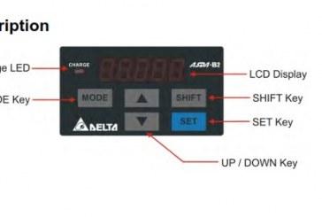 آموزش سروو موتور و آشنایی با نمایشگر سروو درایو دلتا