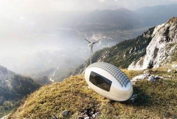 خانه ای کوچک و حیرت انگیز در دل کپسول خورشیدی